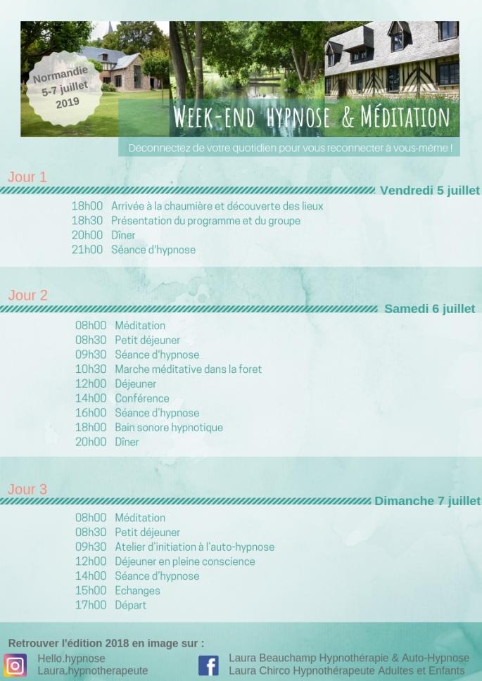 Week-end Hypnose & Bien-être